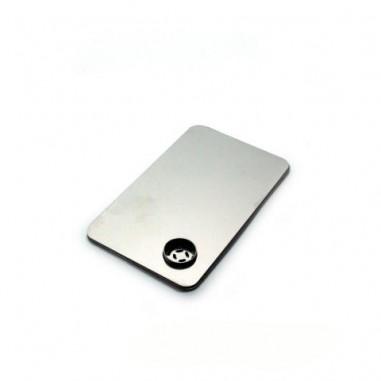 Метална лула кредитна карта