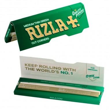 Листчета за тютюн Rizla green