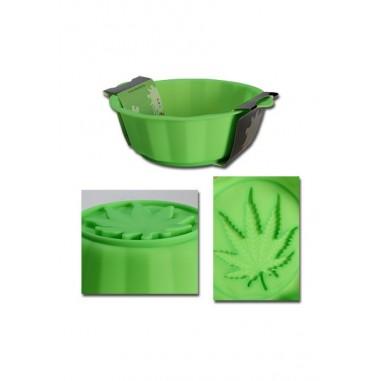 Силиконова форма за кекс с листо