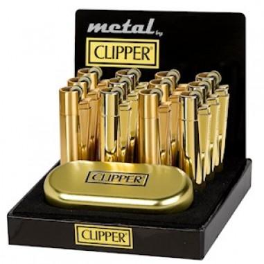 Метален Clipper Златен