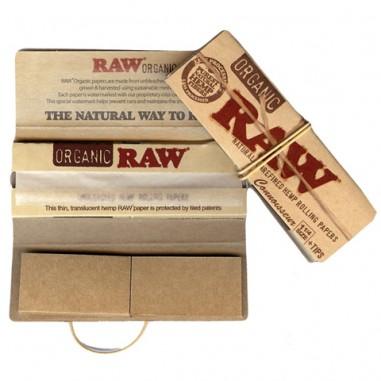 Листчета Raw с картончета